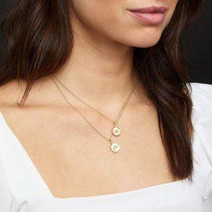 GORJANA - Madison Rainbow Coin Necklace